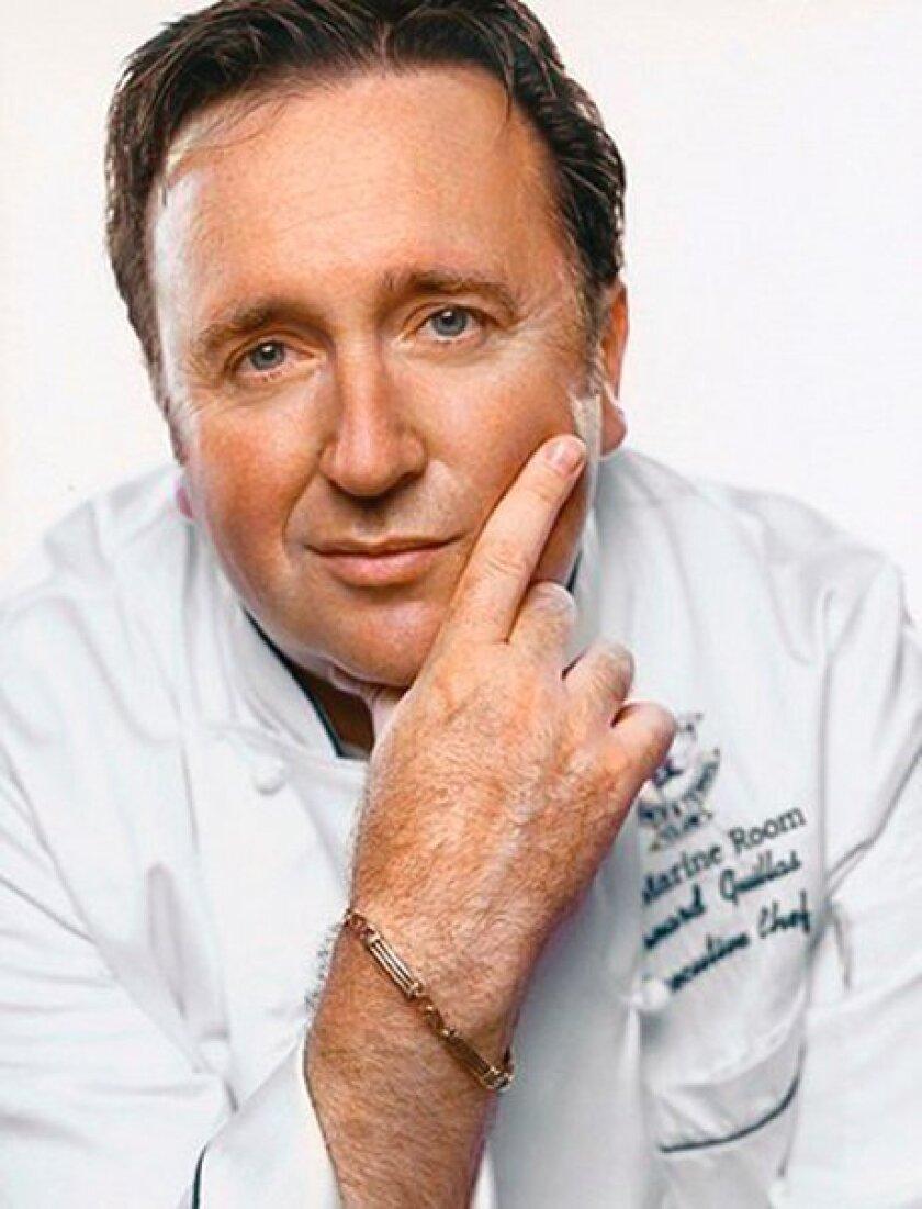 Bernard Guillas, executive chef of The Marine Room in La Jolla