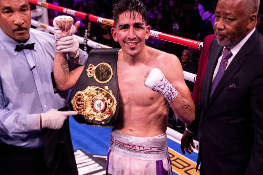 Leo Santa Cruz wins world title in fourth division