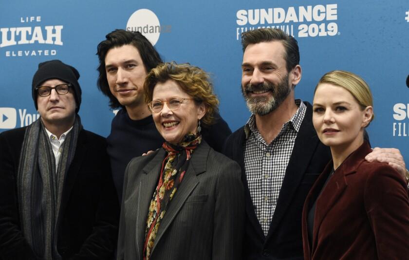 Steven Soderbergh, Adam Driver, Jon Hamm, Annette Bening, Jennifer Morrison