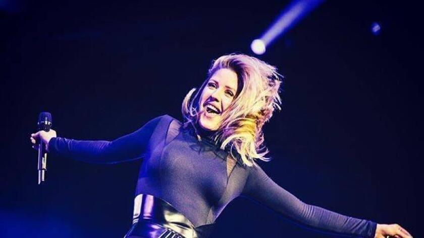 "You might expect Ellie Goulding to take the weekend off after her Friday performance at Coachella (where she also performed April 15 for the festival's opening night). Instead, the 29-year-old English singer-songwriter will perform Saturday at Viejas Arena. She's touring to promote her third album, ""Delrium."" It finds her turning from EDM to a more overtly mainstream pop sound. The results are sleek and well-crafted, but also generic and derivative. With any luck, she'll bring more depth and distinction to her live show. −George Varga, U-T 6:45 p.m. Saturday. Viejas Arena at Aztec Bowl, 5400 Campanile Drive, San Diego State University $19.95-$59.95. (800) 745-3000 or ticketmaster.com (/ Courtesy photo)"