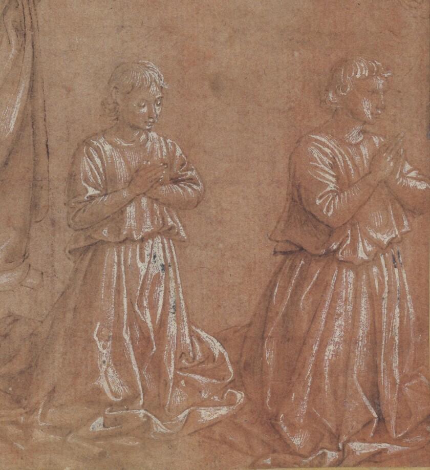 Benozzo Gozzoli, Detail, Benozzo Gozzoli, Studies of Angels for Adoration of the Magi jpeg.jpg