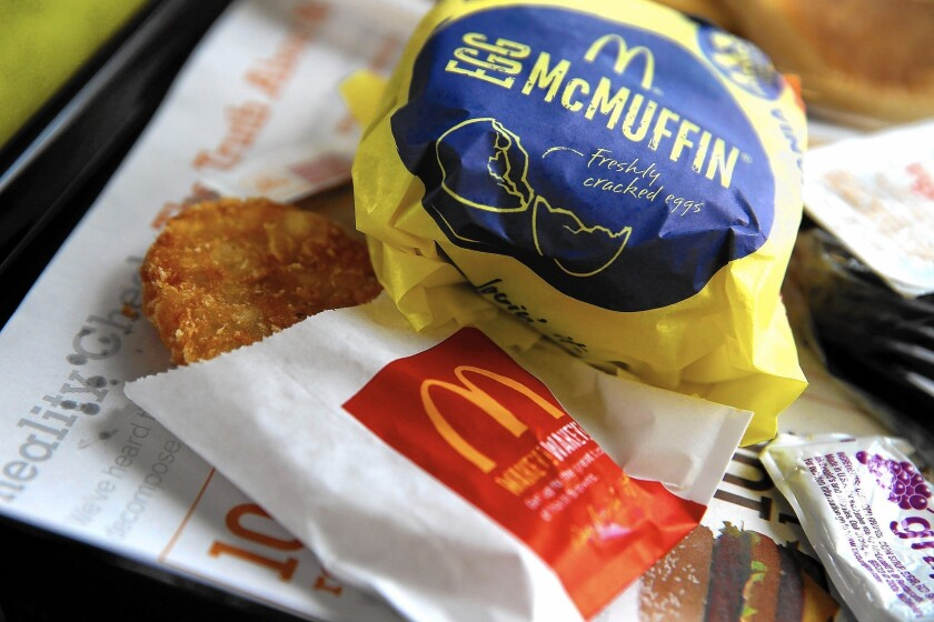 McDonald's decision this fall to offer breakfast items all day in the U.S. is one reason the company is ending 2015 on an upswing.