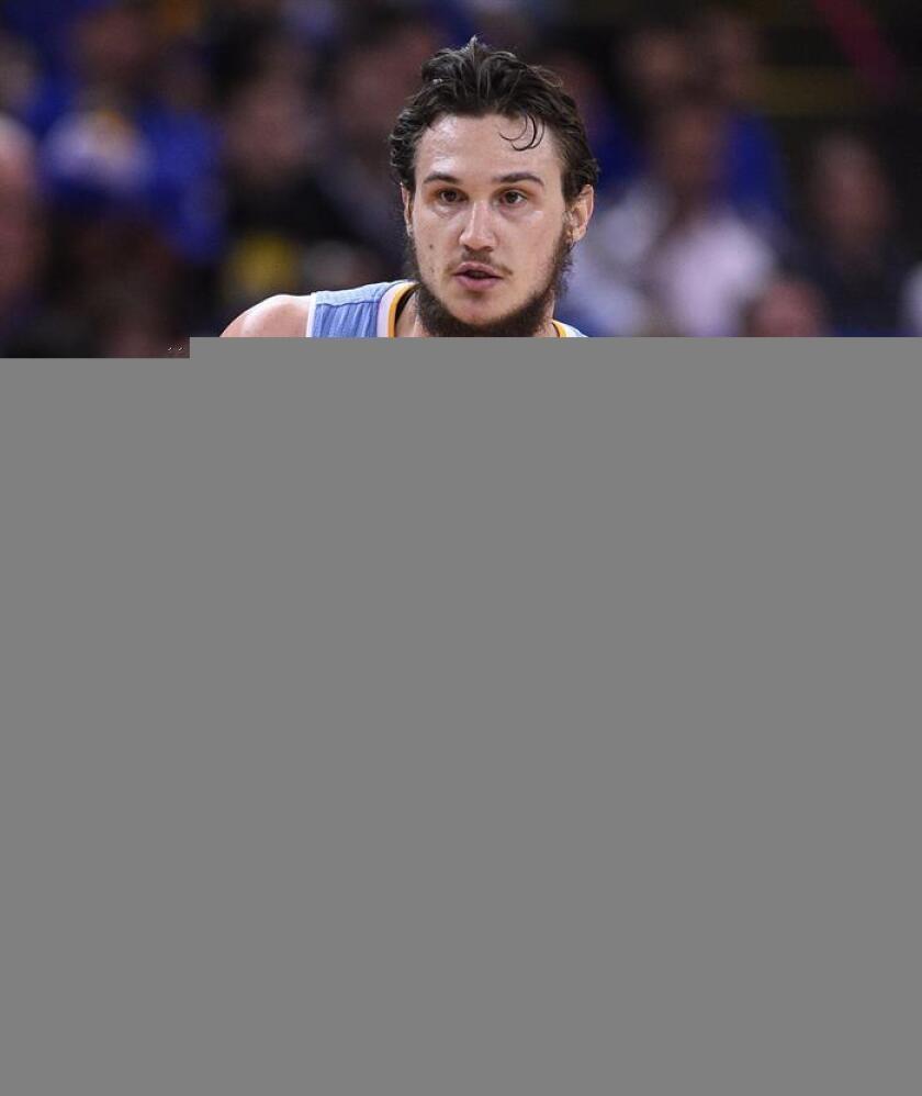 En la imagen, el jugador de los Nuggets de Denver Danilo Gallinari. EFE/Archivo