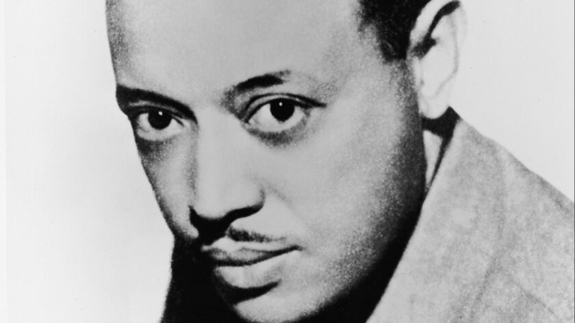 1936 Studio portrait of composer and conductor William Grant Still (1895 - 1978), the first African American conductor of a major orchestra, the Los Angeles Philharmonic.