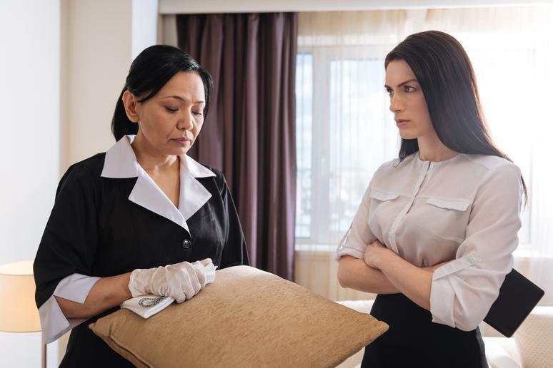 "The vast majority of housekeepers are honest people just trying to do their jobs. It is unkind, therefore, to jump to conclusions when you're unable to find one of your belongings in your room. ""I'm not saying that no hotel housekeepers have ever stolen,"" said Thrillist writer Vivian Kane. ""But by and large, we know there's a huge amount of unspoken trust you have to have to let us into your room, and we're not abusing it."" If you think something may have been stolen or misplaced, contact your front desk and ask them for help without accusing anyone outright."