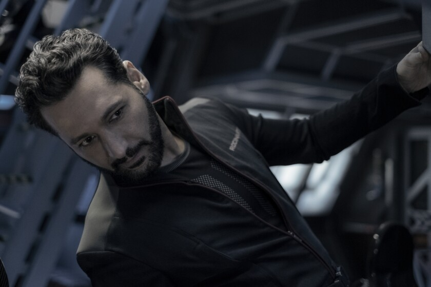 Cas Anvar in 'The Expanse'
