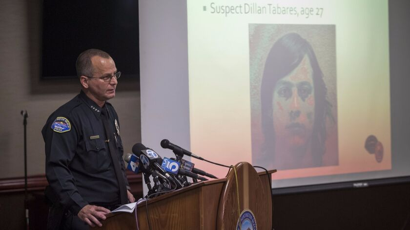 A month after Dillan Tabares was killed, police named him as the suspect in the fatal beating of Richard Darland.