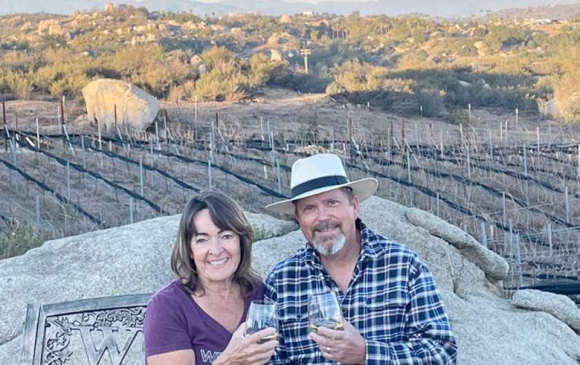 Ann Marie Fowler and Lawrence Graham are the new owners of Sunrise Vineyards.