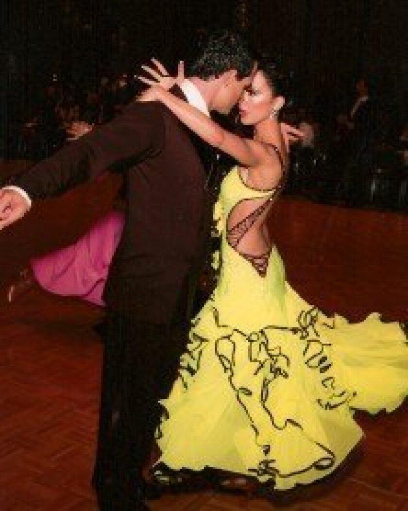 Nathan and Julie Garibay dancing the Tango.   Courtesy photo