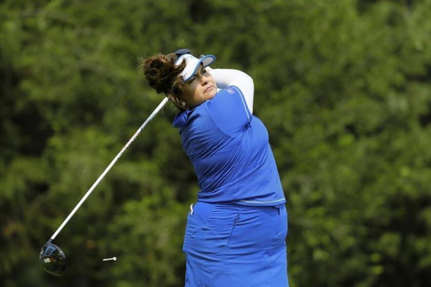 La golfista estadounidense Lizette Salas. EFE/Archivo