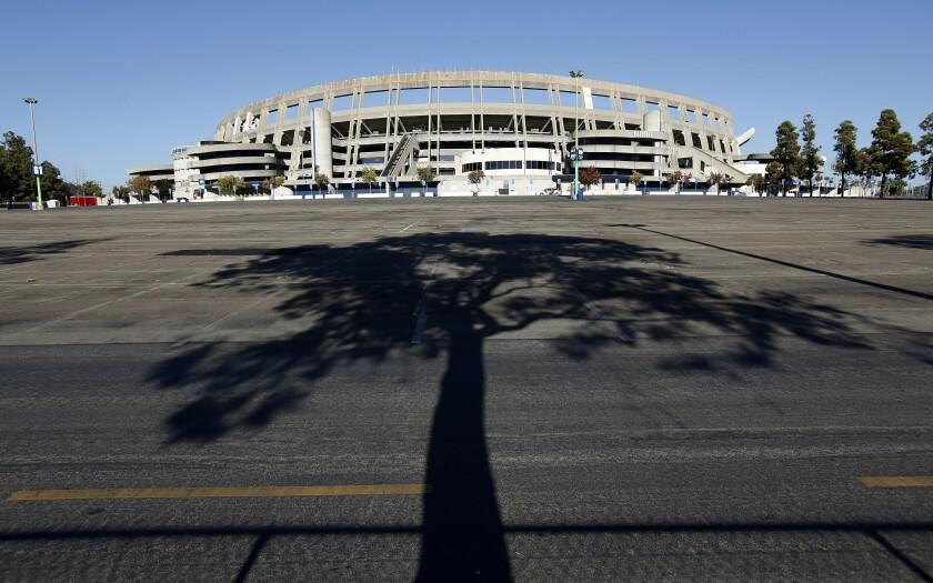 SDCCU Stadium in Mission Valley.