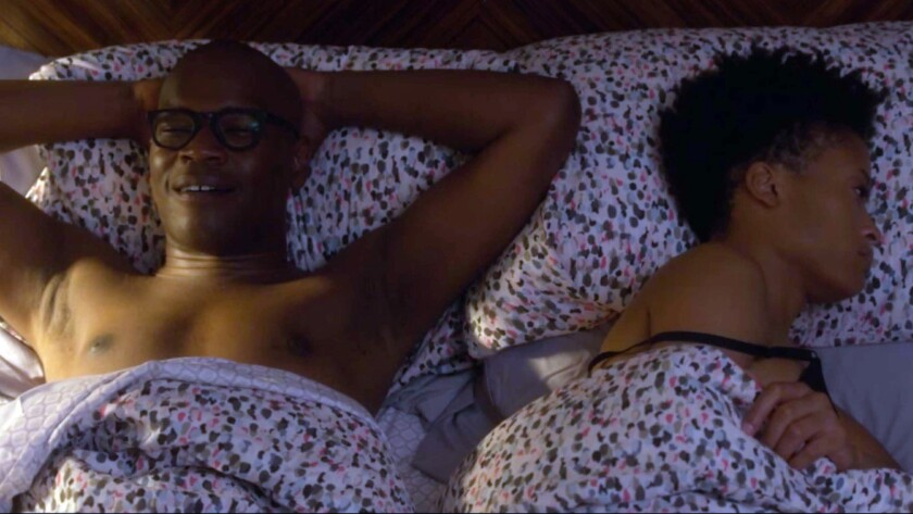 Darien Sills-Evans as ?Nate? and Devon Nelson as ?Melissa? in ?One Bedroom? by Darien Sills-Evans. C