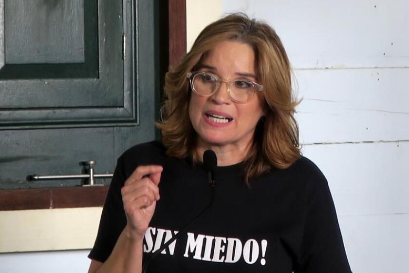 La alcaldesa de San Juan, Carmen Yulín Cruz Soto. EFE/Archivo
