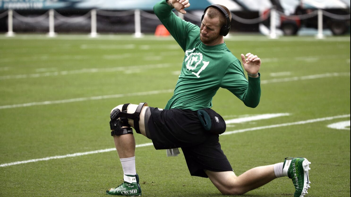 Carson Wentz Back Update Is Not A Setback The San Diego Union Tribune