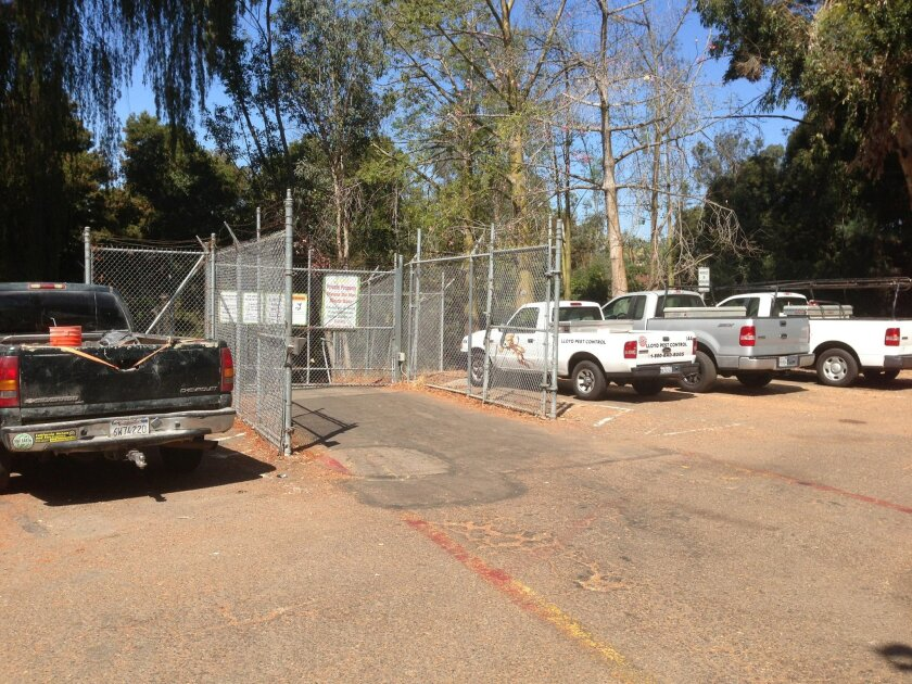 Access to a planned zoo employee parking garage will replace the gate located in a small parking lot behind the Botanical Building on Old Globe Way.