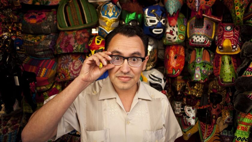 LOS ANGELES, CA, APRIL 102012–Gustavo Arellano, editor of the OC Weekly and author of the syndicated
