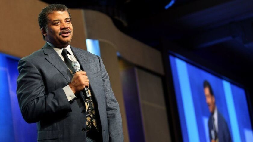 Astrophysicist Neil deGrasse Tyson speaks during the Clinton Global Initiative annual meeting in New York on Sept. 28, 2015.