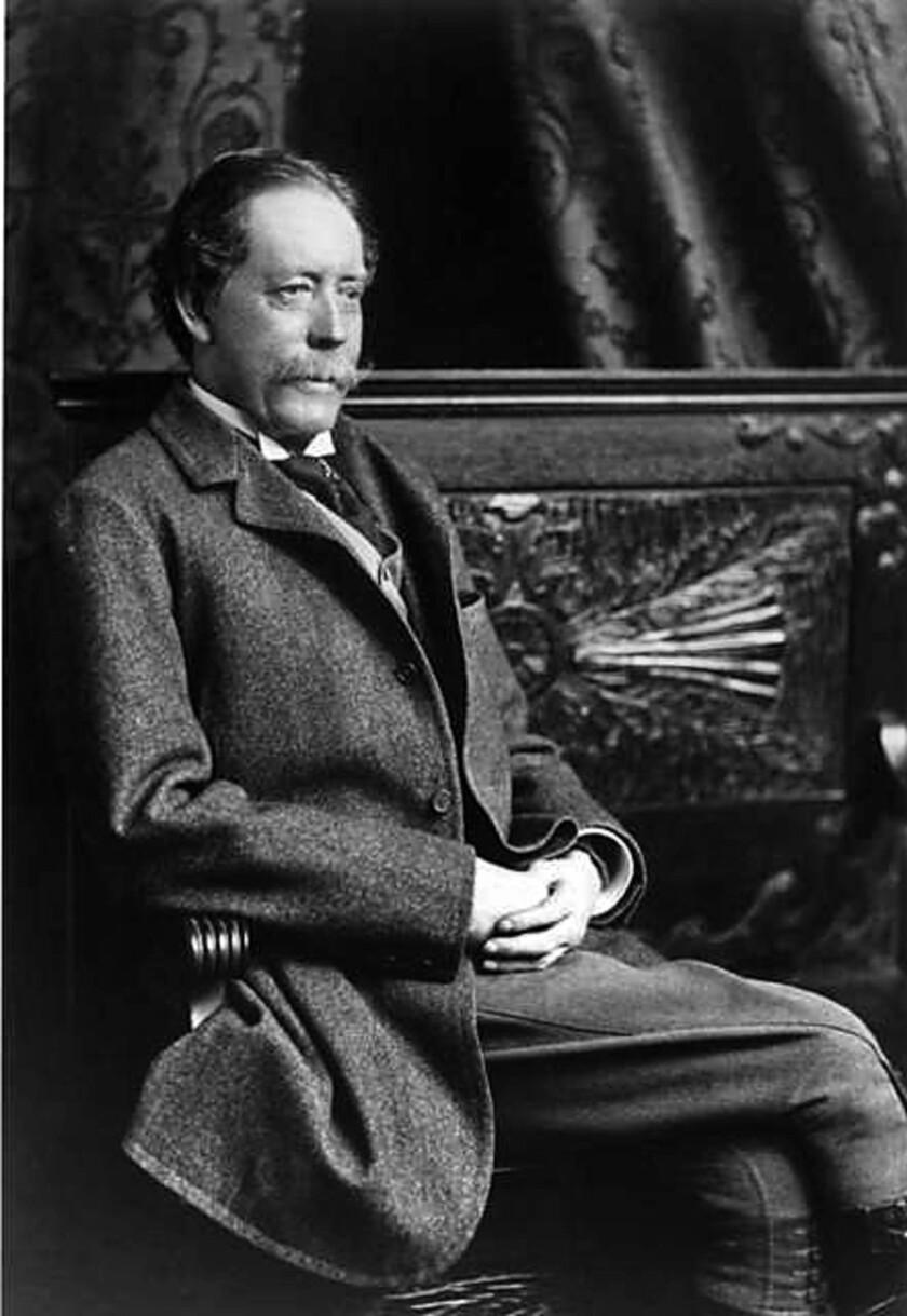 Gen. William Jackson Palmer (1836-1909) built several railroads, including the Denver & Rio Grande Railway. Palmer founded Durango in 1880. (Photo about 1870)