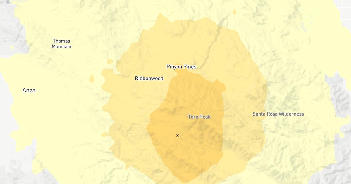 地震:3.5(*)となります。震災の報告に近いパームスプリングス