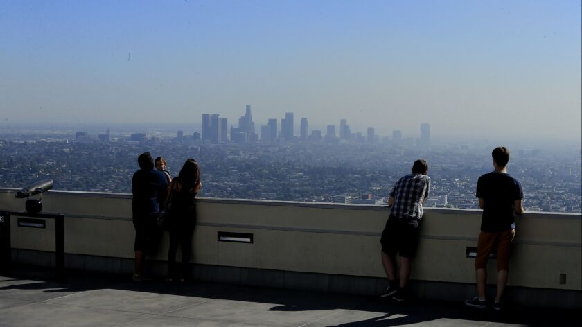 Trump targets smog standards, ordering EPA to make it easier for