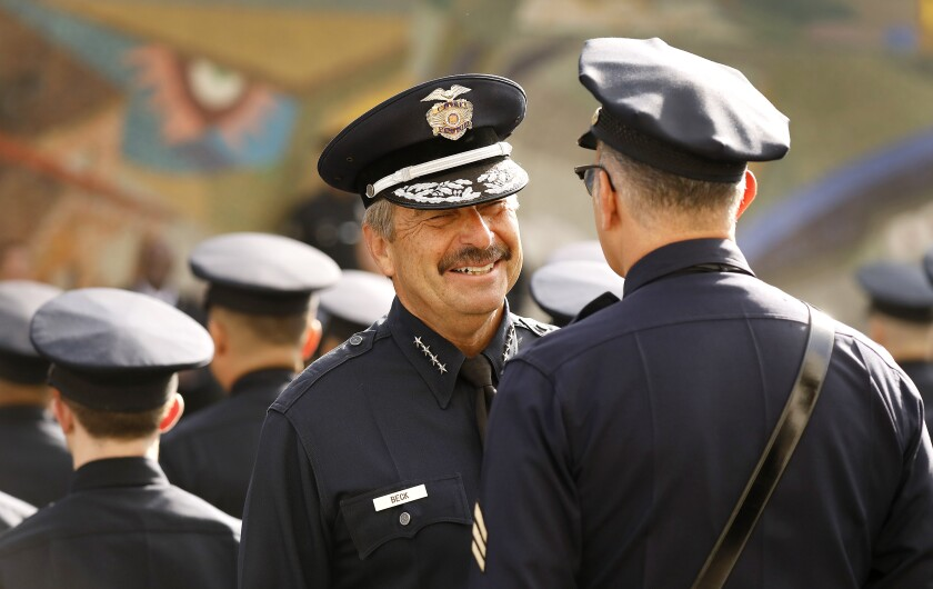 Former LAPD Chief Charlie Beck