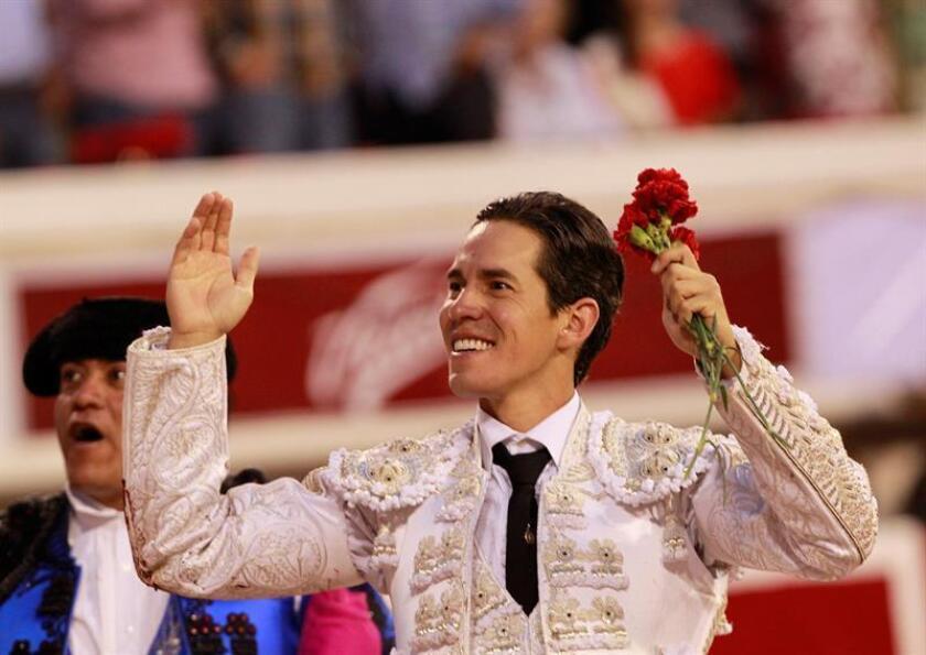 En la imagen, el torero mexicano Diego Silveti. EFE/Archivo