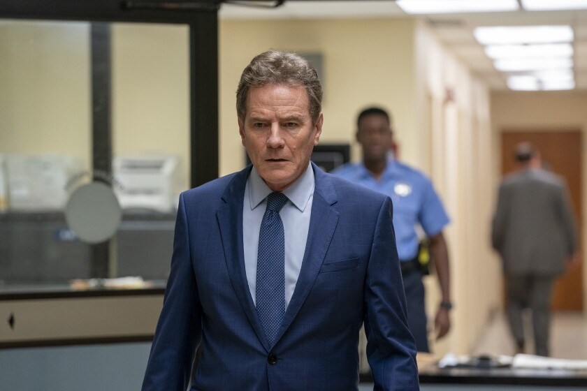 """Bryan Cranston plays a New Orleans judge embroiled in a cover-up in Showtime's """"Your Honor."""""""
