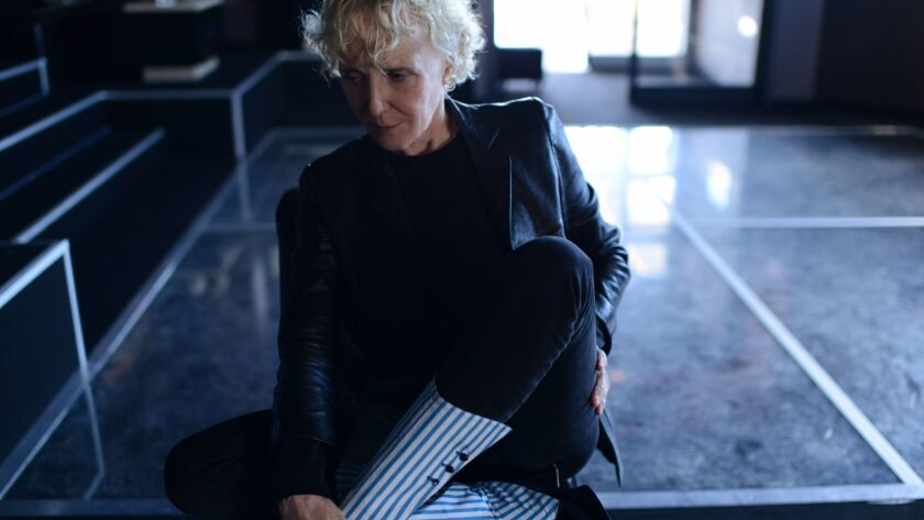 The director Claire Denis in Cannes this year.