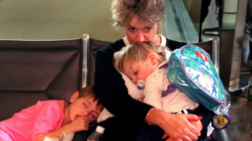 Air Travelers with Children