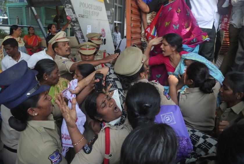 7 killed in New Delhi protests ahead of Trump's visit