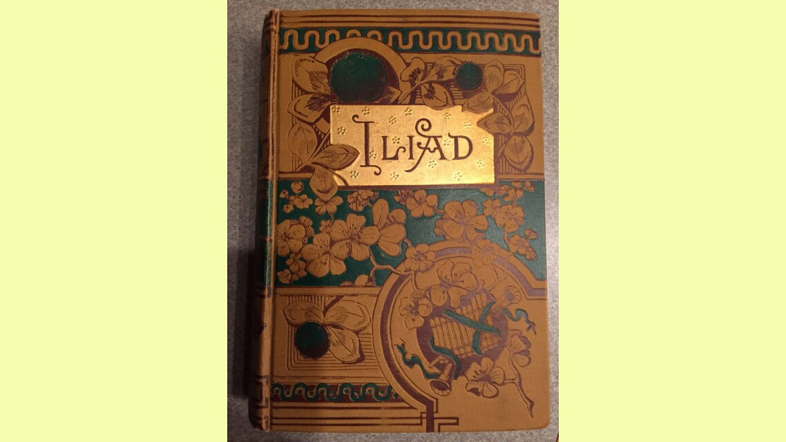 "The copy of ""The Iliad"" that appears in ""The Boy Next Door."""