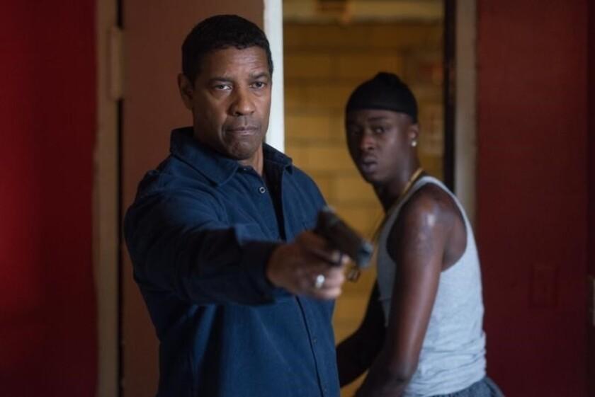 """Denzel Washington en una escena de """"The Equalizer 2"""", que se estrena este fin de semana en salas locales."""