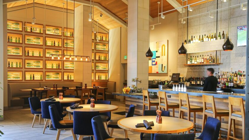 SAN DIEGO, CA June 28th, 2018 | This is Basille restaurant at Nordstrom at the Westfield UTC Mall on