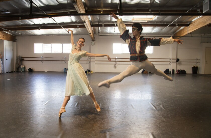 Los Angeles Ballet's 'Romeo and Juliet' a happy alliance between dance families