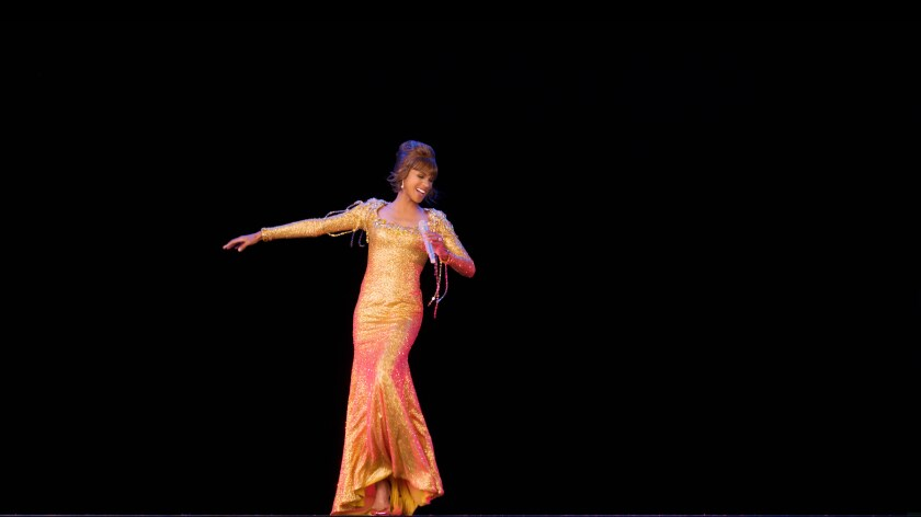 Whitney Houston, in hologram.