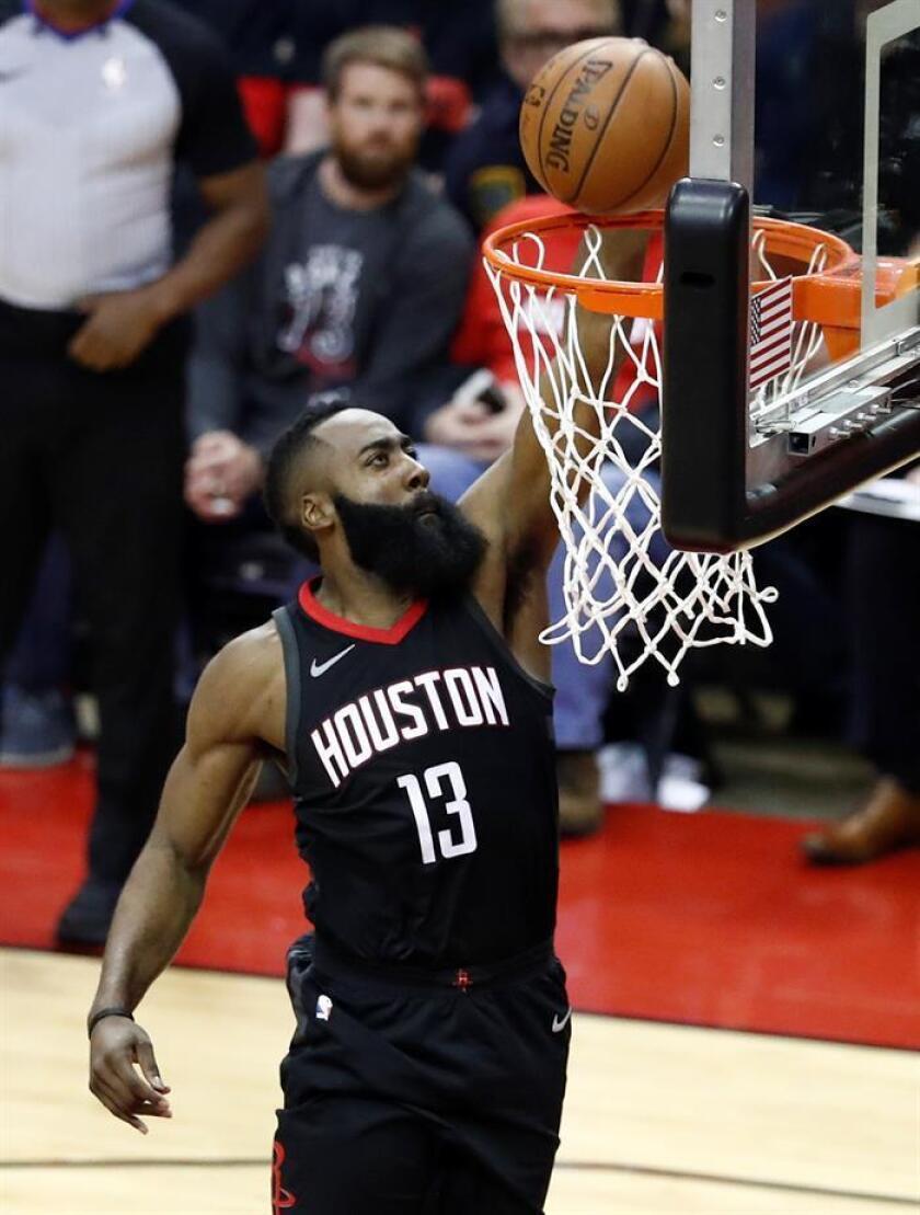 El jugador de Houston Rockets, James Harden. EFE/Archivo