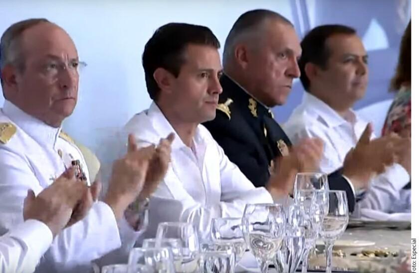 Peña Nieto habla sobre destape de Meade