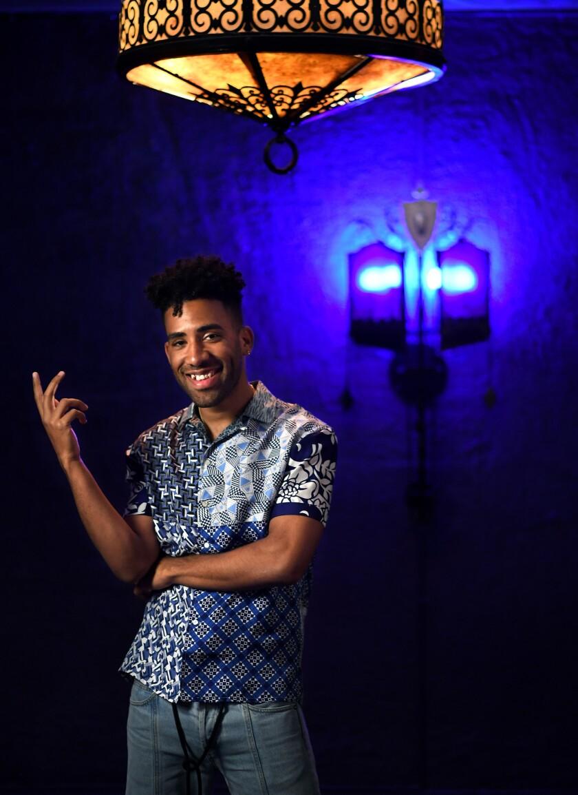 VENTURA, CALIFORNIA APRIL 24, 2018-Rapper Kyle photographed at his hometown theatre in Ventura. (Wa