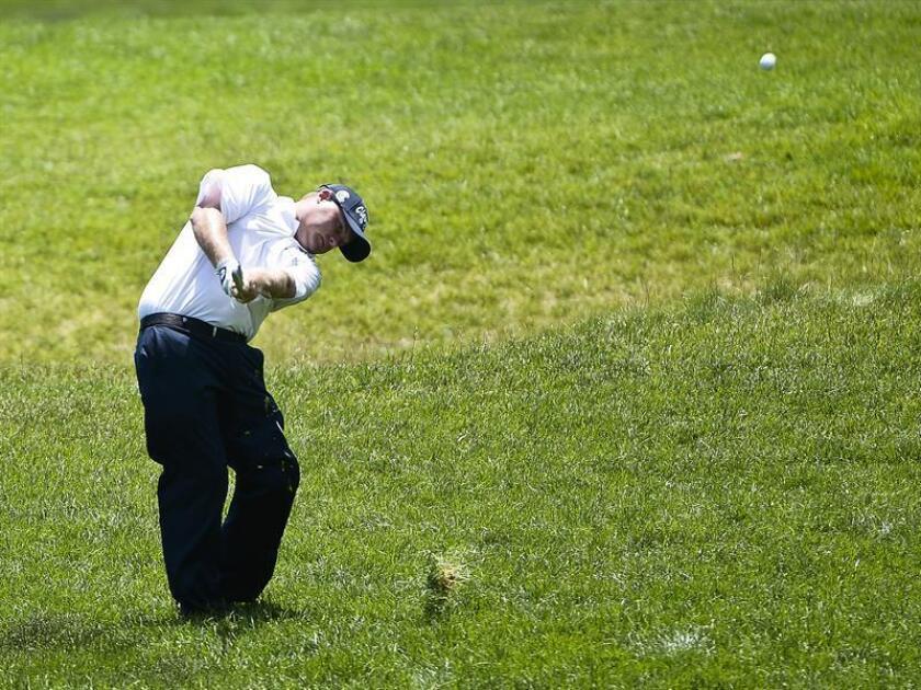 En la imagen, el golfista estadounidense Ted Potter Jr. EFE/Archivo