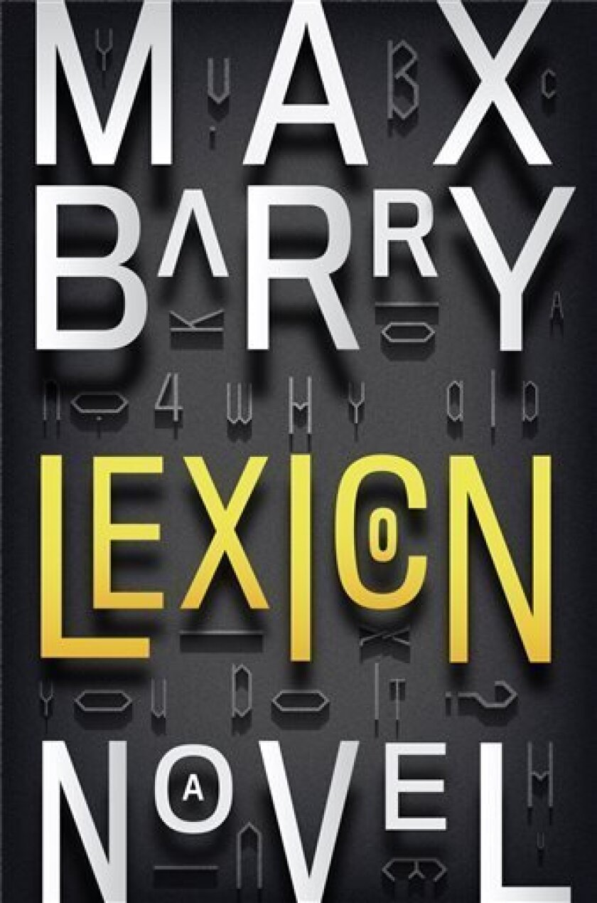 "This book cover image released by The Penguin Press shows ""Lexicon,"" by Max Barry. (AP Photo/The Penguin Press)"