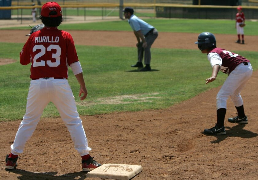 TOUGH CHOICES: Youth baseball players must choose between