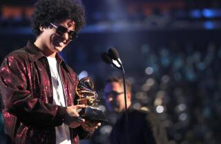 Bruno Mars, Kendrick Lamar the big winners at Grammy Awards
