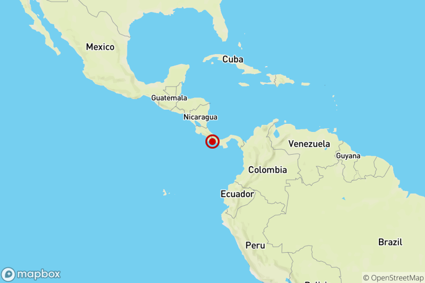 Earthquake: 6.3 quake reported near La Esperanza, Panama