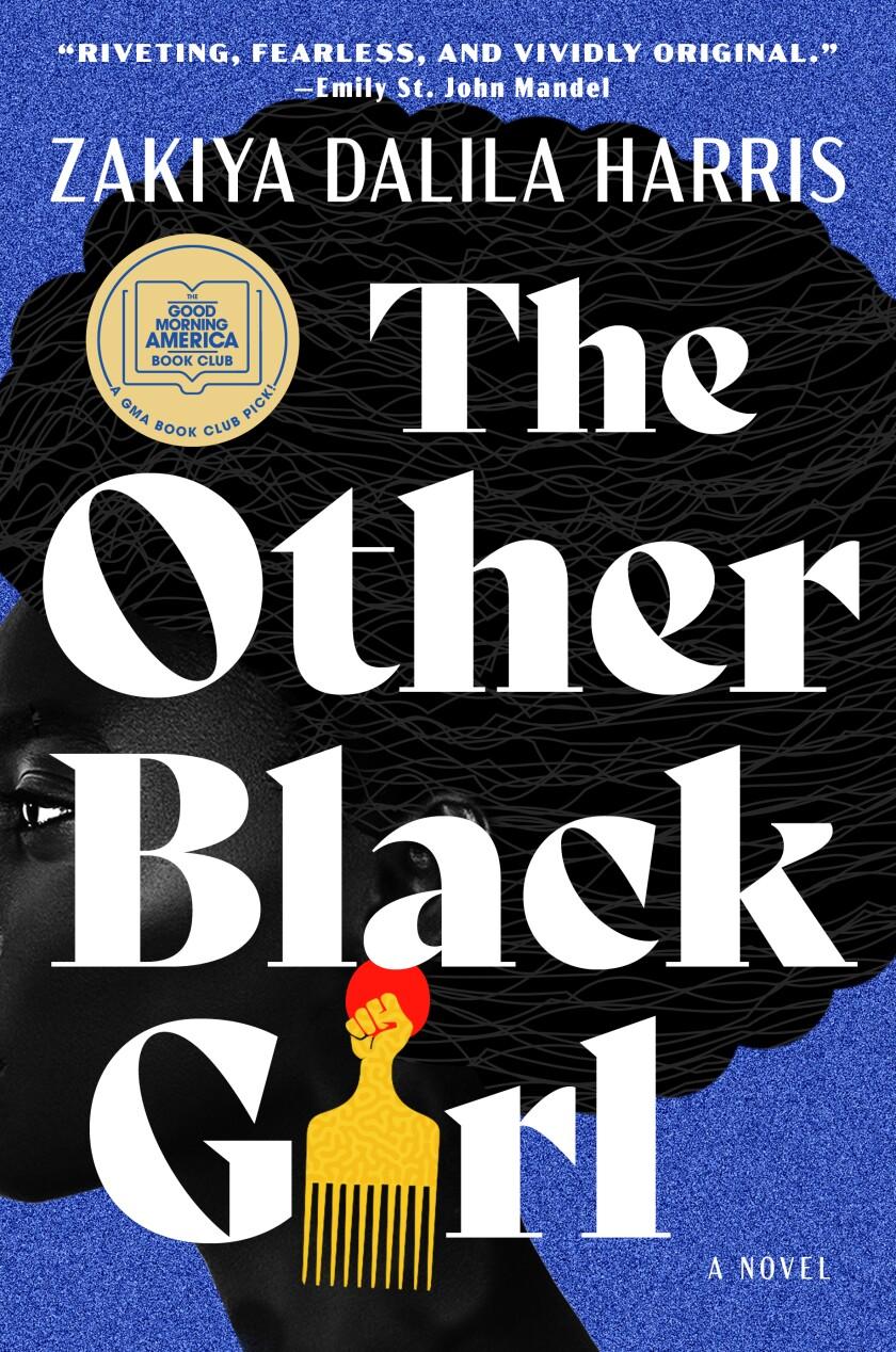 "This cover image released by Atria shows ""The Other Black Girl,"" a novel by Zakiya Dalila Harris. (Atria via AP)"