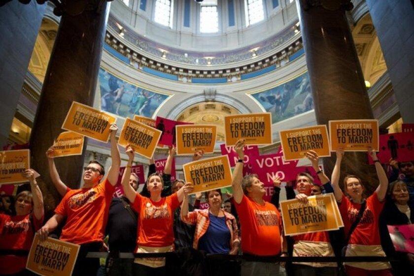 Minnesota same-sex marriage debate