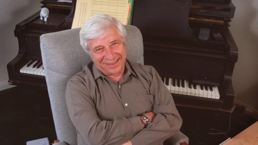 Elmer Bernstein in 1994.
