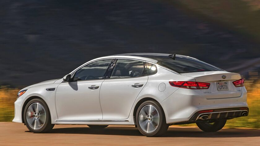 The Kia Optima midsize sedan was redesigned for 2016 and now has an attractive lease of $1,999 down