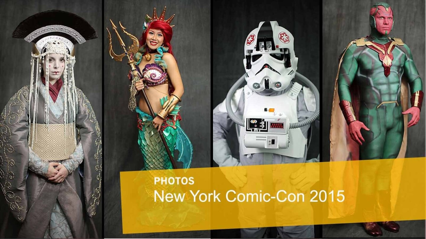 Cosplay, with a few panels, from the New York Comic-Con at the Jacob Javits Center.