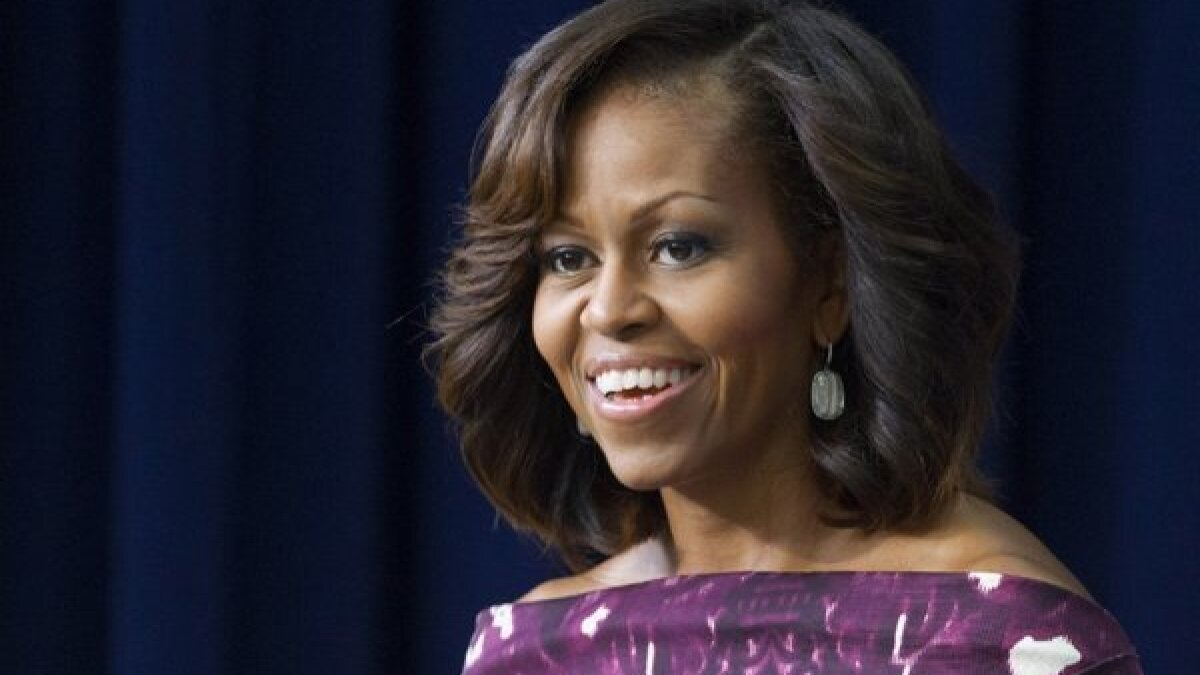 If Michelle Obama wins a Grammy, she'll be in good White House company