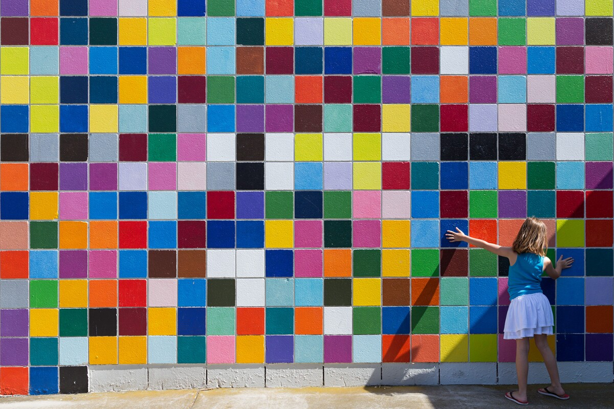 Murals of La Jolla: Roy McMakin